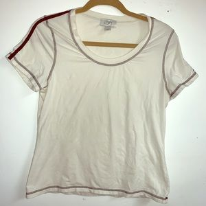 Soft basic white t-shirt